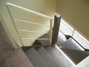 KハイツII.III 階段