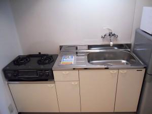 生田目アパート キッチン