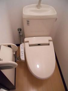 生田目アパート トイレ