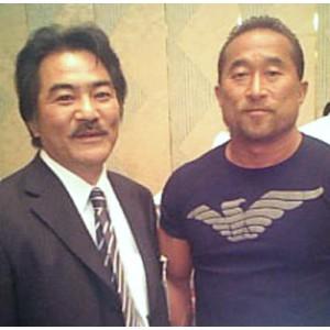 イメージキャラクターとしてお世話になっております角田信朗さんです。