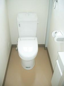 長島クリーニング工場 トイレ