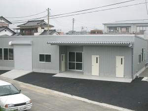 長島クリーニング工場 外観