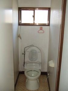 トイレ施工事例  S様邸 着工前