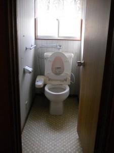 トイレ施工事例  M様邸 着工前