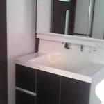 洗面室施工事例 A様邸 完成